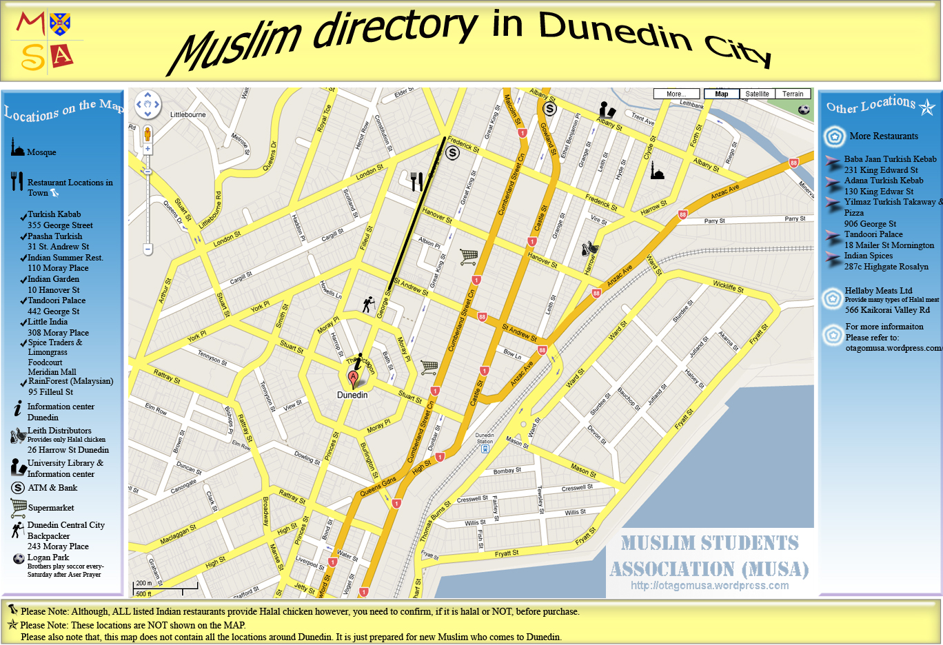 Dundein City And Suburbs Map  Browse Millions Of PDF BOOKS - Florida map dunedin